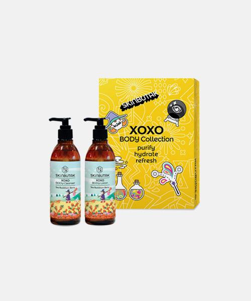 스킨부탁 XOXO 바디클렌저 + 바디로션