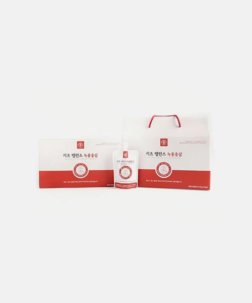 [동우당제약] 키즈밸런스 녹용홍삼 음료 (30포)
