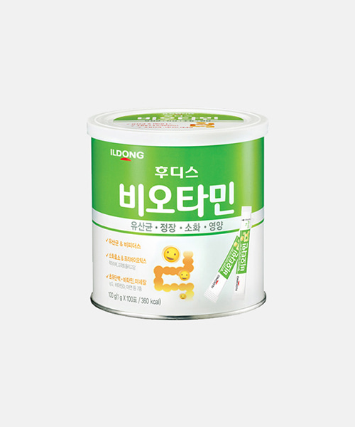 [일동후디스] 비오타민 100g (캔)