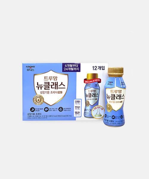 트루맘 뉴클래스 액상 6~24개월 (240mlx12입)/니플L 1개
