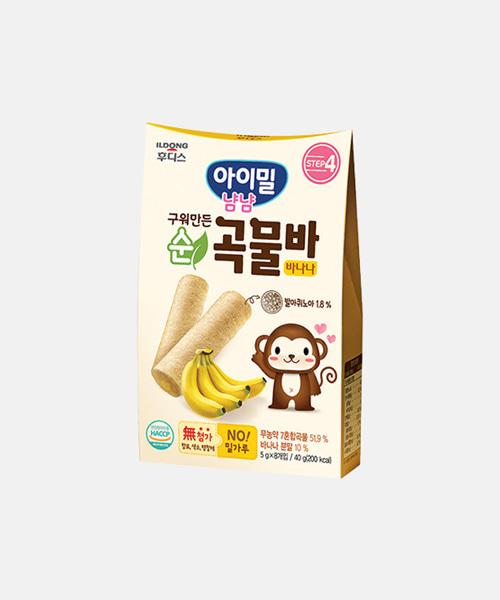 [일동후디스] 구워만든 순곡물바 바나나