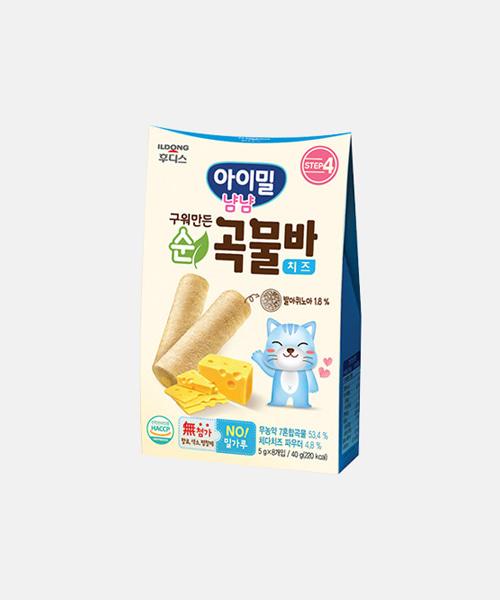 [일동후디스] 구워만든 순곡물바 치즈