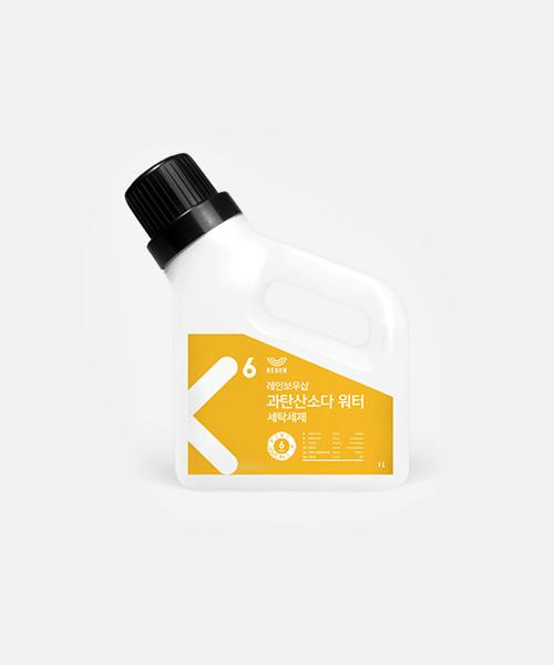 [레인보우샵] 세탁세제 과탄산소다 워터 1L